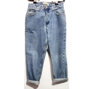 vintage London jeans high rise mom jeans  straight